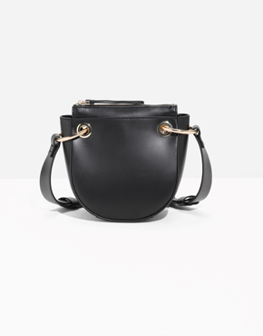 [& Other Stories]Mini Leather Saddle Bag