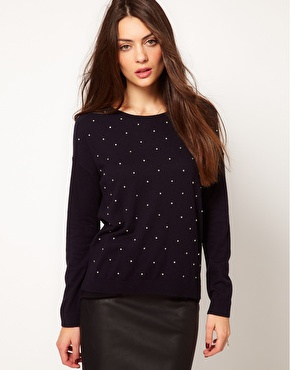 [Whistles] Gracie Stone Embellished Sweater