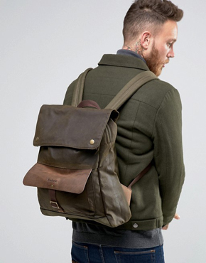 [Barbour]Wax Backpack